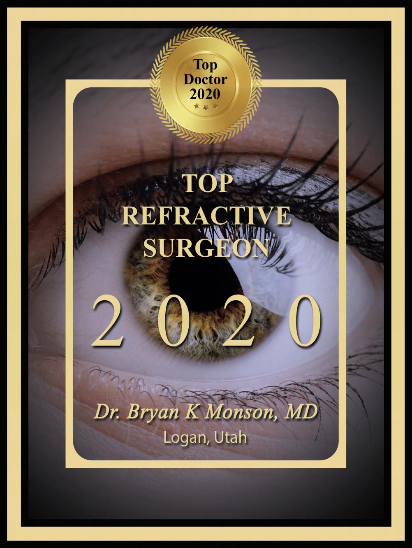 top refractive surgeon utah