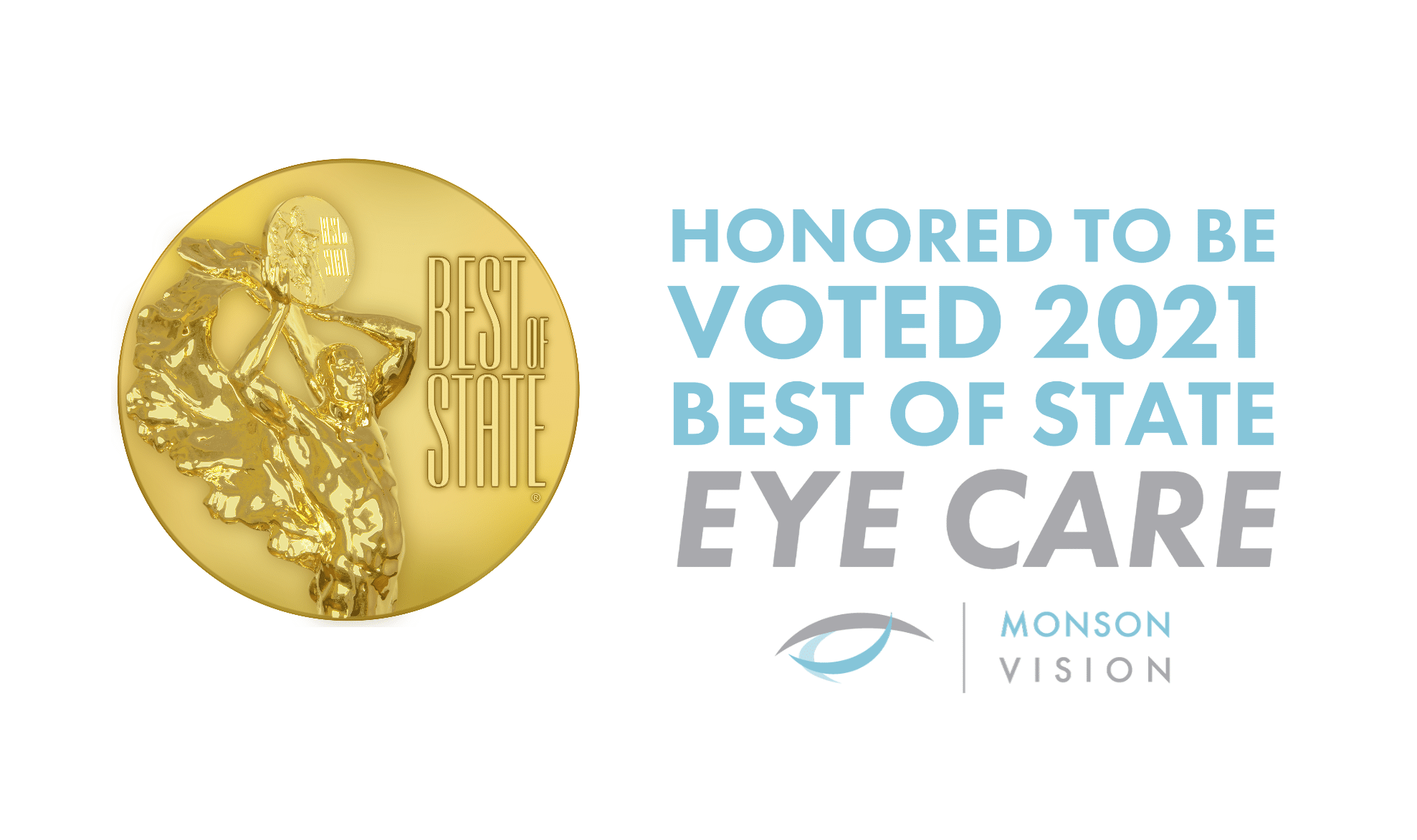 monson vision voted best of state eye care